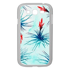 Tillansia Flowers Pattern Samsung Galaxy Grand Duos I9082 Case (white)