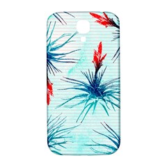 Tillansia Flowers Pattern Samsung Galaxy S4 I9500/i9505  Hardshell Back Case