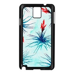 Tillansia Flowers Pattern Samsung Galaxy Note 3 N9005 Case (black)