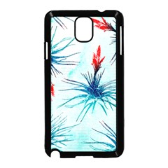 Tillansia Flowers Pattern Samsung Galaxy Note 3 Neo Hardshell Case (black)