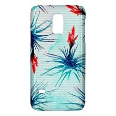 Tillansia Flowers Pattern Galaxy S5 Mini