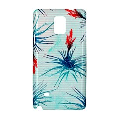 Tillansia Flowers Pattern Samsung Galaxy Note 4 Hardshell Case