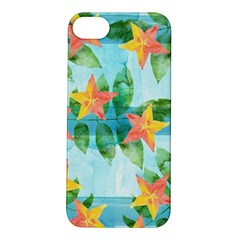 Tropical Starfruit Pattern Apple Iphone 5s/ Se Hardshell Case