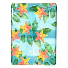 Tropical Starfruit Pattern Ipad Air Hardshell Cases