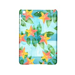 Tropical Starfruit Pattern Ipad Mini 2 Hardshell Cases