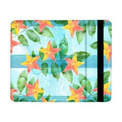 Tropical Starfruit Pattern Samsung Galaxy Tab Pro 8 4  Flip Case