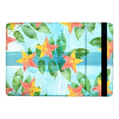 Tropical Starfruit Pattern Samsung Galaxy Tab Pro 10 1  Flip Case