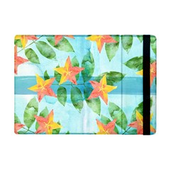 Tropical Starfruit Pattern Ipad Mini 2 Flip Cases