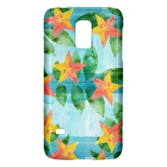 Tropical Starfruit Pattern Galaxy S5 Mini