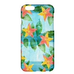 Tropical Starfruit Pattern Apple Iphone 6 Plus/6s Plus Hardshell Case