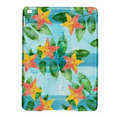 Tropical Starfruit Pattern Ipad Air 2 Hardshell Cases
