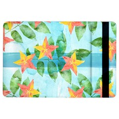 Tropical Starfruit Pattern Ipad Air 2 Flip