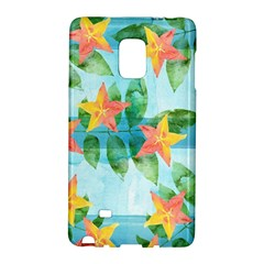 Tropical Starfruit Pattern Galaxy Note Edge