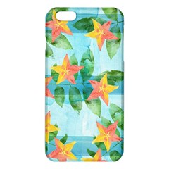Tropical Starfruit Pattern Iphone 6 Plus/6s Plus Tpu Case
