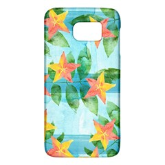 Tropical Starfruit Pattern Galaxy S6