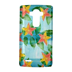 Tropical Starfruit Pattern Lg G4 Hardshell Case