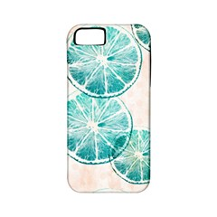 Turquoise Citrus And Dots Apple Iphone 5 Classic Hardshell Case (pc+silicone) by DanaeStudio