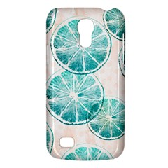 Turquoise Citrus And Dots Galaxy S4 Mini by DanaeStudio