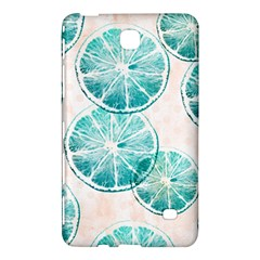 Turquoise Citrus And Dots Samsung Galaxy Tab 4 (7 ) Hardshell Case
