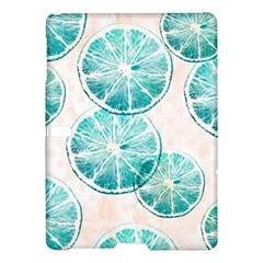 Turquoise Citrus And Dots Samsung Galaxy Tab S (10 5 ) Hardshell Case
