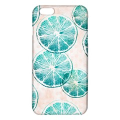 Turquoise Citrus And Dots Iphone 6 Plus/6s Plus Tpu Case