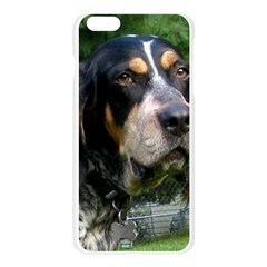 Bluetick Coonhound Apple Seamless iPhone 6 Plus/6S Plus Case (Transparent) by TailWags