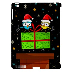 Cute Christmas Birds Apple Ipad 3/4 Hardshell Case (compatible With Smart Cover) by Valentinaart