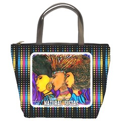 Natural Sistas By Disheka    Bucket Bag   Bmvczhks5j6t   Www Artscow Com Front