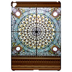 Stained Glass Window Library Of Congress Apple iPad Pro 12.9   Hardshell Case by Zeze