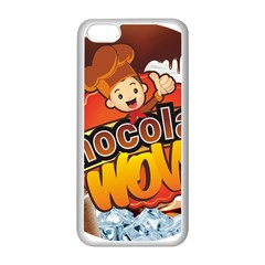 Chocolate Wow Apple Iphone 5c Seamless Case (white) by Onesevenart