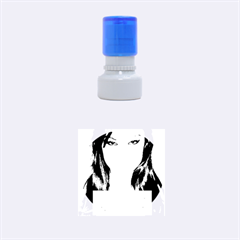 Sasha Grey Love Rubber Round Stamps (small) by Onesevenart