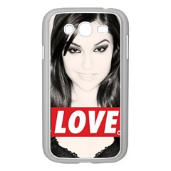 Sasha Grey Love Samsung Galaxy Grand Duos I9082 Case (white) by Onesevenart