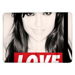Sasha Grey Love Samsung Galaxy Tab Pro 12 2  Flip Case by Onesevenart