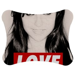 Sasha Grey Love Jigsaw Puzzle Photo Stand (Bow) by Onesevenart
