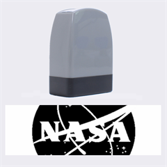 Nasa Logo Name Stamps by Onesevenart