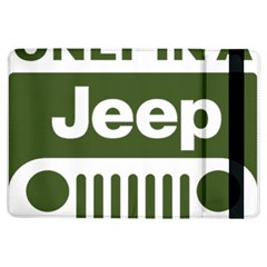 Only In A Jeep Logo Ipad Air Flip by Onesevenart