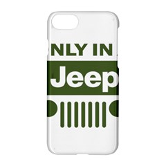 Only In A Jeep Logo Apple Iphone 7 Hardshell Case