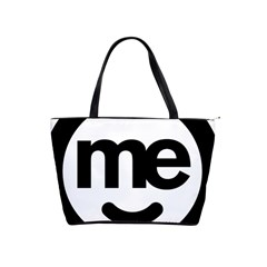 Me Logo Shoulder Handbags by Onesevenart