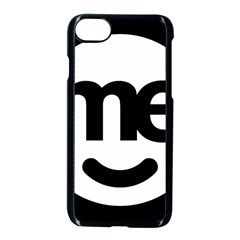 Me Logo Apple iPhone 7 Seamless Case (Black) by Onesevenart