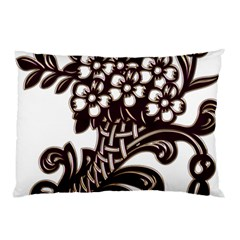 Purple Wood Ornaments Pillow Case (two Sides) by Onesevenart