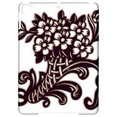 Purple Wood Ornaments Apple iPad Pro 9.7   Hardshell Case