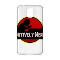 Positively Nerdy Samsung Galaxy S5 Hardshell Case  by Onesevenart
