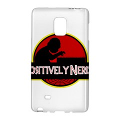 Positively Nerdy Galaxy Note Edge by Onesevenart