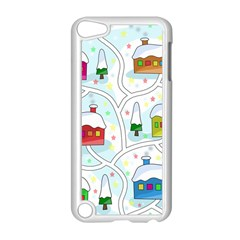 Winter Magical Landscape Apple Ipod Touch 5 Case (white) by Valentinaart