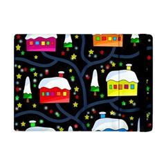 Winter Magical Night Apple Ipad Mini Flip Case by Valentinaart