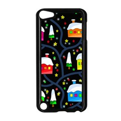 Winter Magical Night Apple Ipod Touch 5 Case (black) by Valentinaart