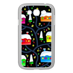 Winter Magical Night Samsung Galaxy Grand Duos I9082 Case (white) by Valentinaart