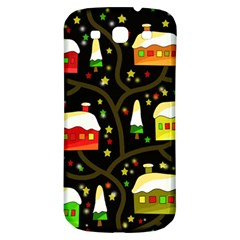Winter  Night  Samsung Galaxy S3 S Iii Classic Hardshell Back Case by Valentinaart