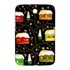 Winter  Night  Samsung Galaxy Note 8 0 N5100 Hardshell Case  by Valentinaart