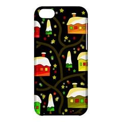 Winter  Night  Apple Iphone 5c Hardshell Case by Valentinaart